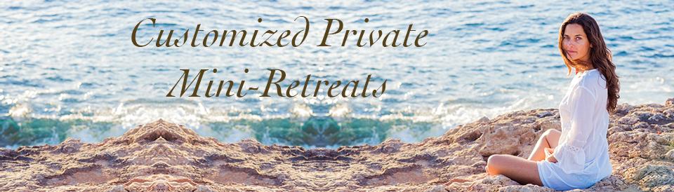Rebeca Castella banner for Customized Private Mini-Retreats page